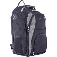 BND BKP113BKGRY Bond Street Matt Business Backpack BNDBKP113BKGRY
