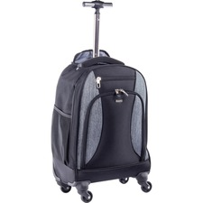 BND BKPW2622BLK Bond Street Wheeled Matt Backpack BNDBKPW2622BLK