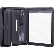 BND WRC1517BLK Bond Street Zippered Tablet Padfolio BNDWRC1517BLK
