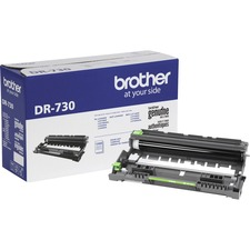 Brother Genuine DR-730 Mono Laser Drum Unit - Laser Print Technology - 12000 Pages