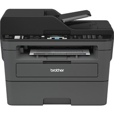 Brother MFC-L2710DW Compact Laser All-in-One with Duplex Printing with Wireless Networking - Copier/Fax/Printer/Scanner - 32 ppm Mono Print - 2400 x 600 dpi Print - Automatic Duplex Print - 1200 dpi Optical Scan - 250 sheets Input - Ethernet - Wireless LA
