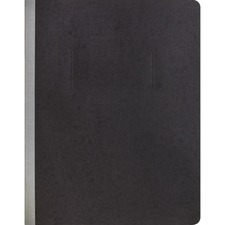 """Business Source Letter Recycled Report Cover - 8 1/2"""" x 11"""" - Black - 10% Recycled"""