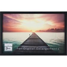 DAX N16817BT Burns Grp. Digital Enlargement Black Wood Frame DAXN16817BT