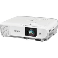 Epson PowerLite X39 LCD Projector - HDTV - 4:3 - Front, Ceiling, Rear - UHE - 210 W - 6000 Hour Normal Mode - 12000 Hour Economy Mode - 1024 x 768 - XGA - 15,000:1 - 2700 lm - HDMI - USB - 326 W - White, Gray Color - 2 Year Warranty