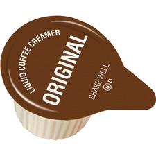 GJO 98221 Genuine Joe Liquid Coffee Creamer Singles GJO98221