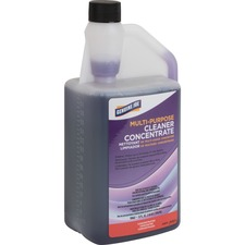 Genuine Joe Lavender Concentrated Multipurpose Cleaner - Concentrate Liquid - 32 fl oz (1 quart) - Lavender ScentBottle - Purple