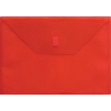 LIO22080RD - Lion Hook and Loop Closure Poly Envelopes
