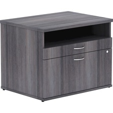 LLR 16213 Lorell Relevance Srs Charcoal Laminate Furniture LLR16213