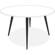 LLR59643 - Lorell Round Conference Table Steel Base