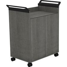 LLR 59647 Lorell Laminate Mobile Storage Cabinet LLR59647