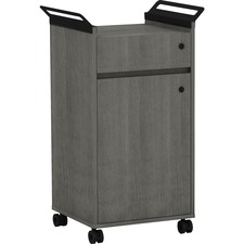 LLR 59648 Lorell Mobile Storage Cabinet w/ Drawer LLR59648
