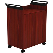 LLR59650 - Lorell Laminate Mobile Storage Cabinet