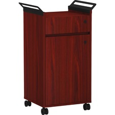 LLR 59651 Lorell Mobile Storage Cabinet w/ Drawer LLR59651