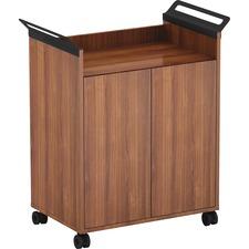 LLR 59653 Lorell Laminate Mobile Storage Cabinet LLR59653
