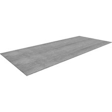 LLR59656 - Lorell Charcoal Laminate Rectangular Conference Tabletop