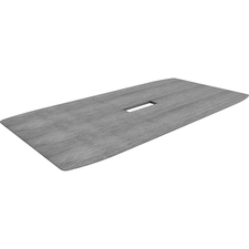LLR59688 - Lorell Charcoal Laminate Rectangular Conference Tabletop