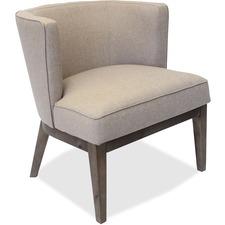 LLR82093 - Lorell Linen Fabric Accent Chair
