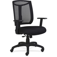 LLR83100 - Lorell Mesh Back Chair with Air Grid Fabric Seat