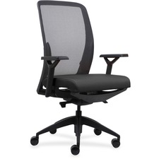 LLR83104 - Lorell Executive Mesh Back/Fabric Seat Task Chair