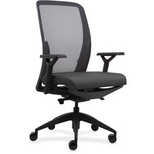 LLR83104A202 - Lorell Executive Mesh Back/Fabric Seat Task Chair