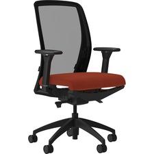 LLR83104A203 - Lorell Executive Mesh Back/Fabric Seat Task Chair