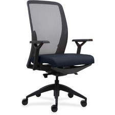 LLR83104A204 - Lorell Executive Mesh Back/Fabric Seat Task Chair