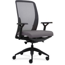 LLR83104A206 - Lorell Executive Mesh Back/Fabric Seat Task Chair