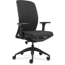 LLR83105 - Lorell Executive Chairs with Fabric Seat & Back