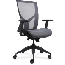 LLR83110 - Lorell High-Back Chair with Mesh Back & Seat