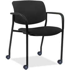 LLR83115A205 - Lorell Stack Chairs with Plastic Back & Vinyl Seat