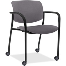 LLR83115A206 - Lorell Stack Chairs with Plastic Back & Vinyl Seat