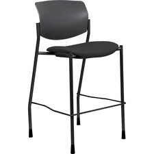 LLR 83119 Lorell Fabric Seat Contemporary Stool LLR83119