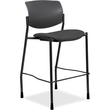 LLR 83119A202 Lorell Fabric Seat Contemporary Stool LLR83119A202