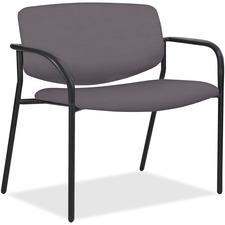 LLR 83120A206 Lorell Bariatric Guest Chairs w/Vinyl Seat & Back LLR83120A206