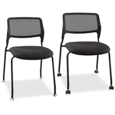 LLR84549 - Lorell Armless Stackable Guest Chairs