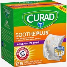MII CUR204425AH Medline Curad SoothePlus Medium Non-stick Pads MIICUR204425AH
