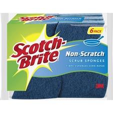 MMM 5265 3M Scotch-Brite Non-Scratch Scrub Sponges MMM5265
