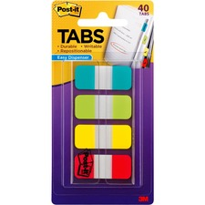 MMM 676ALYR 3M Post-it Easy Dispenser Assorted Tabs MMM676ALYR