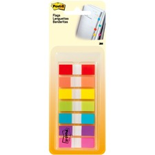 "MMM 6837CF 3M Post-it Assorted 1/2"" Portable Flags MMM6837CF"