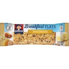 QKR 56089 Quaker Foods Breakfast Flats Crispy Snack Bars QKR56089