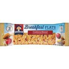 QKR 56100 Quaker Foods Breakfast Flats Crispy Snack Bars QKR56100