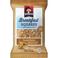 QKR 56256 Quaker Foods Breakfast Squares Soft Baked Bars QKR56256