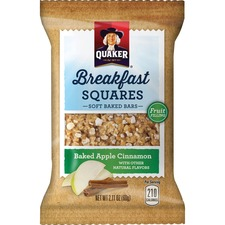 QKR 56257 Quaker Foods Breakfast Squares Soft Baked Bars QKR56257