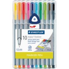 STD 334SB10US Staedtler Triplus Fineliner Marker Pen STD334SB10US