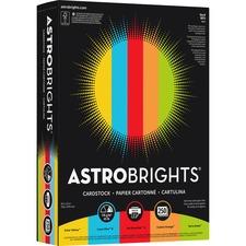 WAU 98751 Wausau AstroBrights 65 lb Cardstock WAU98751