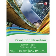 XER 3R20172 Xerox Revolution NeverTear Synthetic Paper XER3R20172