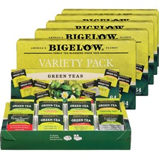 BTC 30568CT Bigelow Assorted Green Tea Tray Pack BTC30568CT