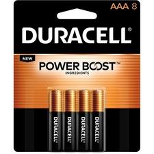 DUR MN2400B8ZCT Duracell Coppertop Alkaline AAA Batteries DURMN2400B8ZCT
