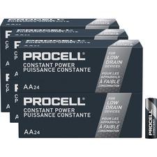 DUR PC1500BKDCT Duracell Procell Alkaline AA Batteries DURPC1500BKDCT