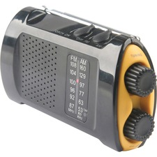 FAO 90423 First Aid Only Portable AM/FMTV Crank Radio FAO90423